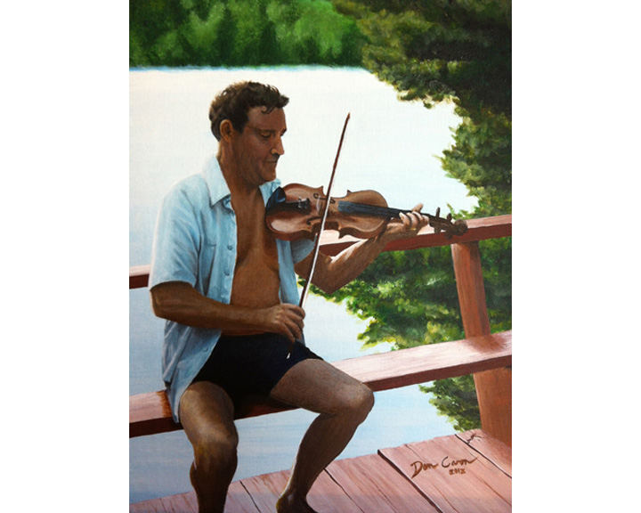 Man with Fiddle
