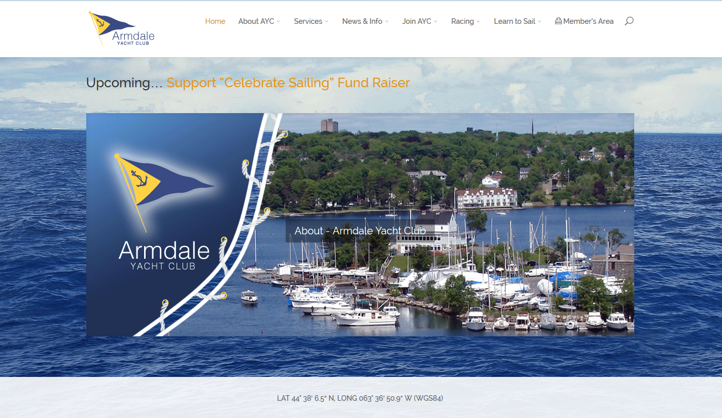 Armdale Yacht Club – Website